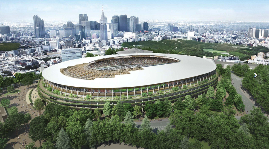 Kengo Kuma is crafting a timber temple to sports for the 2020 Olympics