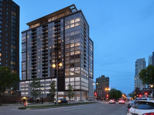 Rare timber frame, 21-story downtown Milwaukee apartment tower wins Plan Commission approval