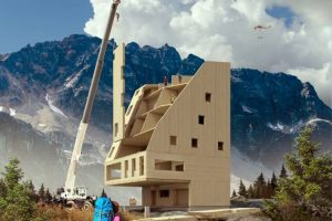B.C. architect pitches network of Swiss-style alpine huts between Vancouver, Squamish