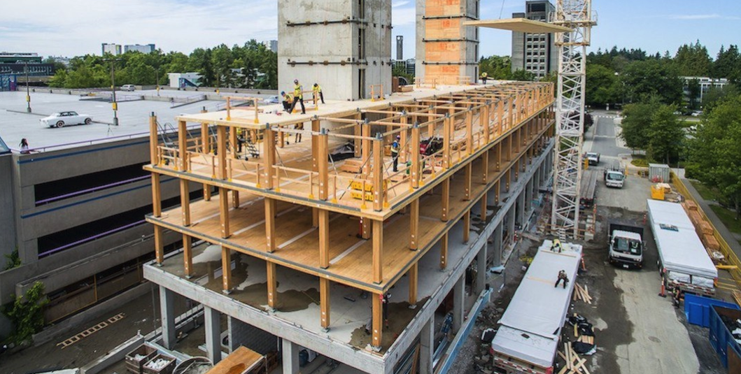 BC building code will now allow wood buildings to be taller