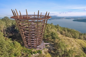 Developers propose above-ground walkway, lookout tower at Bamberton on Malahat