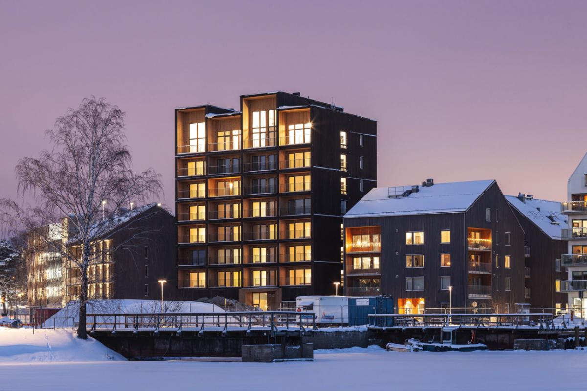 C.F. Møller Architects Completes Sweden's Tallest Timber Building