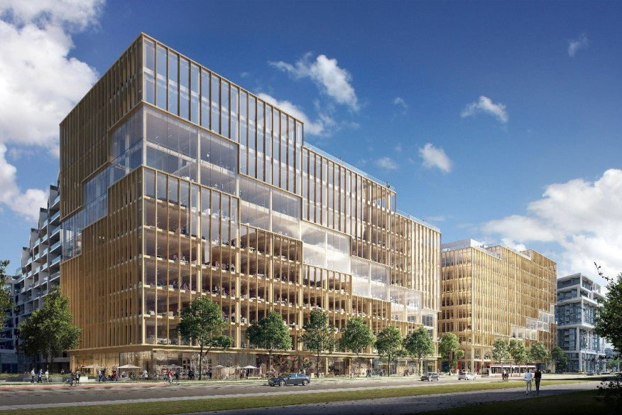 Plans for North America's Tallest Timber Office Building Revealed