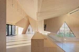 Le Vaud Polyvalent Hall by LOCALARCHITECTURE