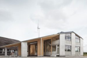 Van Hoorebeke Timber Warehouse / TRANS architectuur I stedenbouw