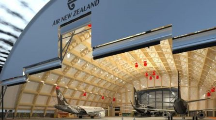 Air New Zealand to build world's largest single-arch timber aircraft hangar