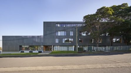 Making a vibrant new school from a rundown Brutalist building