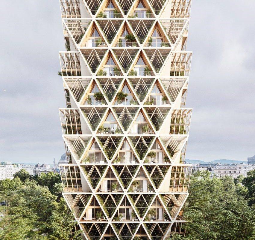 Precht's The Farmhouse concept combines modular homes with vertical farms