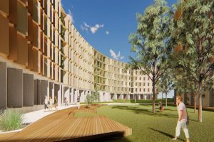 La Trobe's $100m mass timber construction project takes off