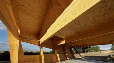 Level Architekture designs a house built entirely from Glulam and CLT