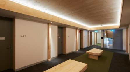 Multiplex's Danielle Savio gives insight into the benefits of using cross-laminated timber