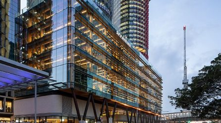 Tzannes-designed timber engineered commercial build wins top property honour