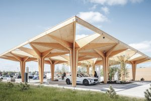 Ultra Fast Charging Station for Electric Vehicles