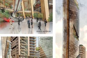 Hickok Cole designs timber towers for Philadelphia