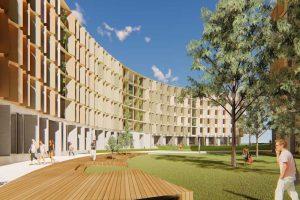 Work begins on JCB-designed sustainable student accommodation at La Trobe University