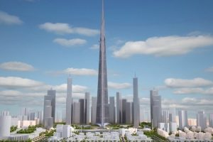 Mile-high skyscrapers 'could be made out of wood'