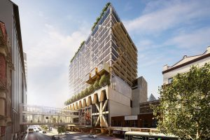 Plans Revealed for Melbourne's Tallest Timber Tower