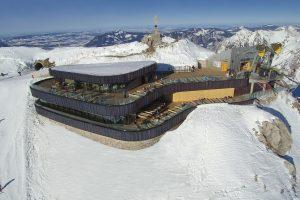 Nebelhorn cable car – summit restaurant