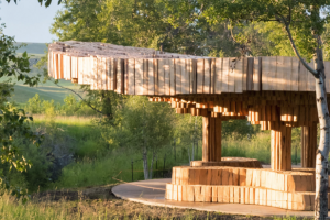 Xylem, a Pavilion for Tippet Rise Art Center