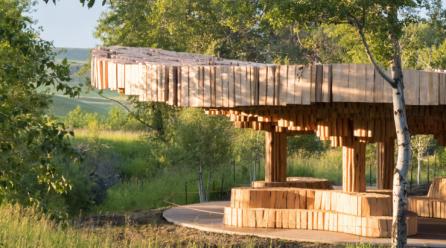 Xylem, a Pavilion for Tippet Rise Art Center