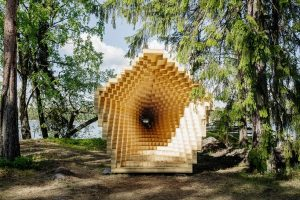 Y Pavilion In Finland Reveals the Possibilities of Wood In Modern Construction