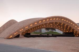 BUGA Wooden Pavilion 2019