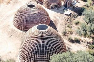 Kanye West Domes Pop Up On Calabasas Property – Prototypes For Housing Community