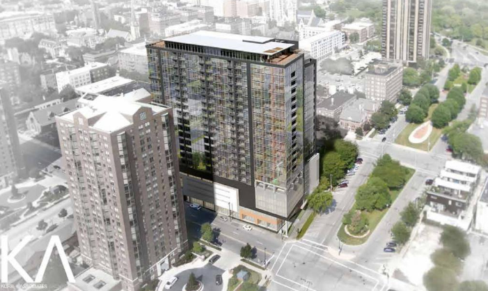New Land adds height to timber apartment tower proposal for downtown Milwaukee