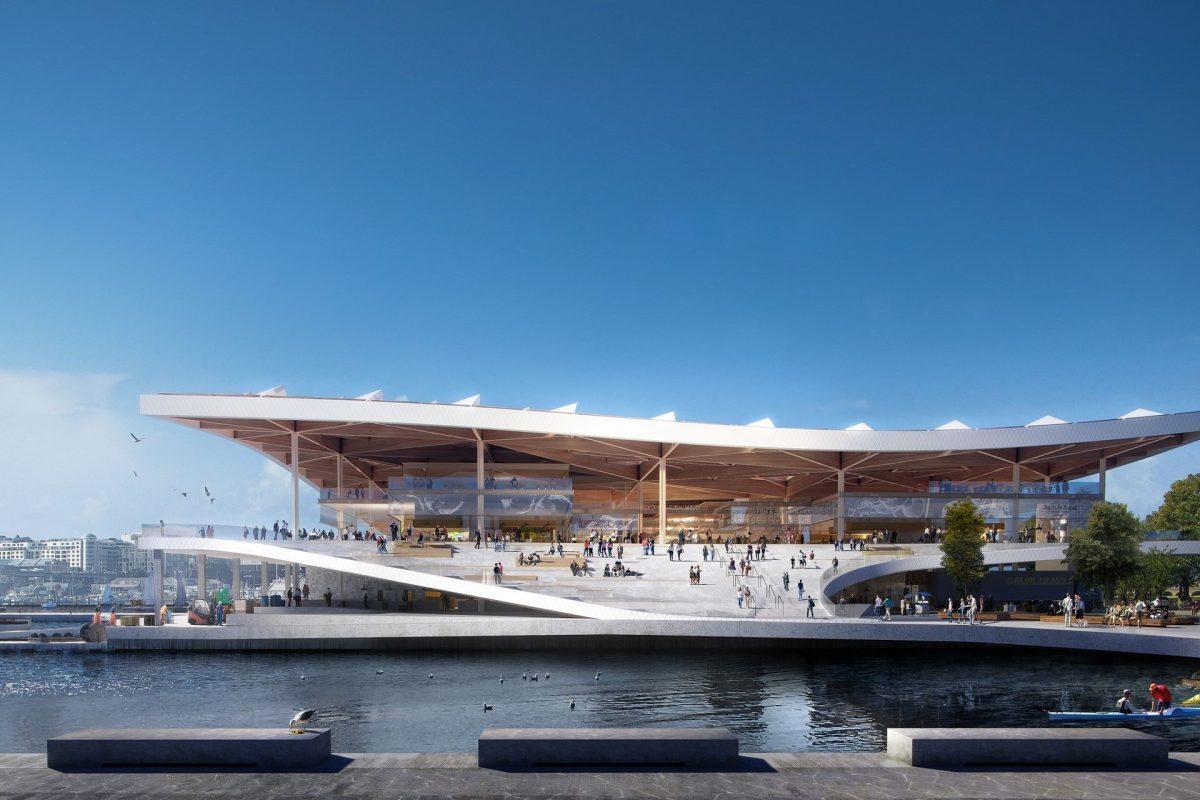 Latest design revealed for new Sydney Fish Market