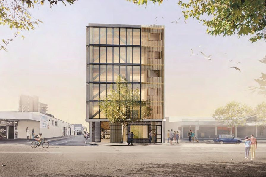 WA's first timber-framed office tower approved