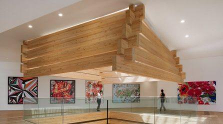 Kengo Kuma's stacked-timber Odunpazari Modern Museum opens in Turkey