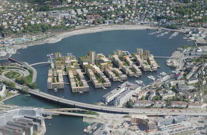 Master Plan for new community in Bergen is seriously low carbon