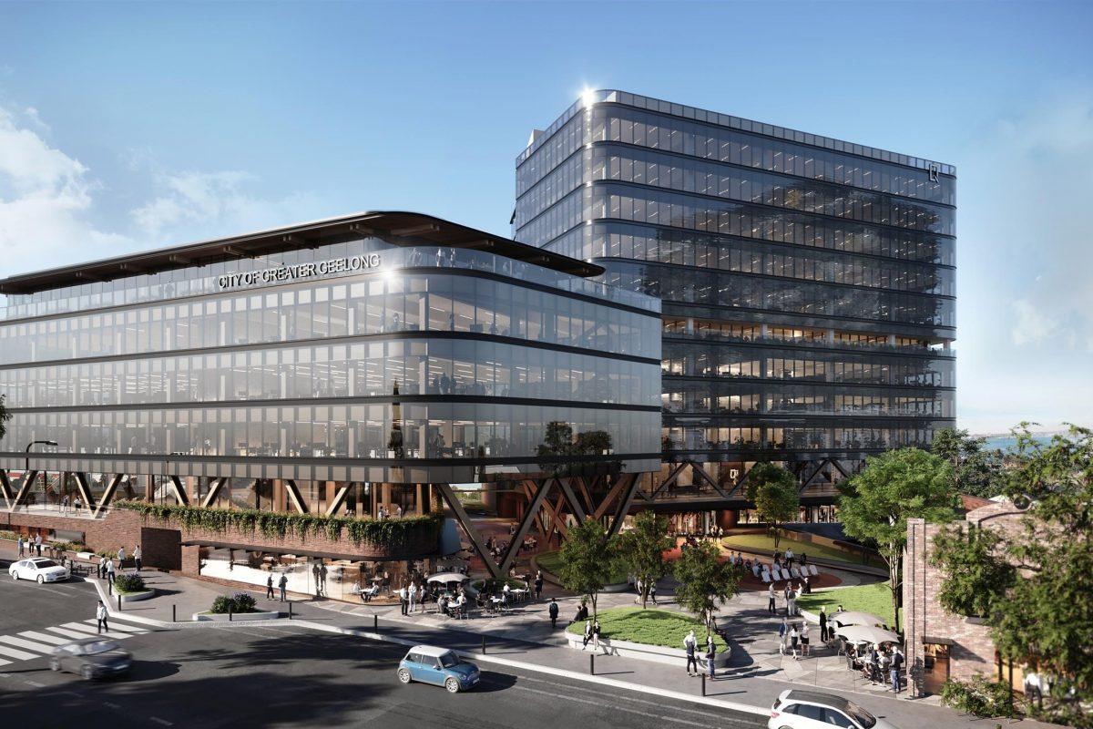 COX Architecture designs Geelong's new Civic Precinct