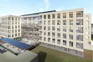 Work Begins on Virginia's Tallest Timber Building
