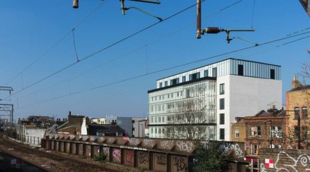 The Green House on Cambridge Heath adds mass timber addition to rehab of existing building