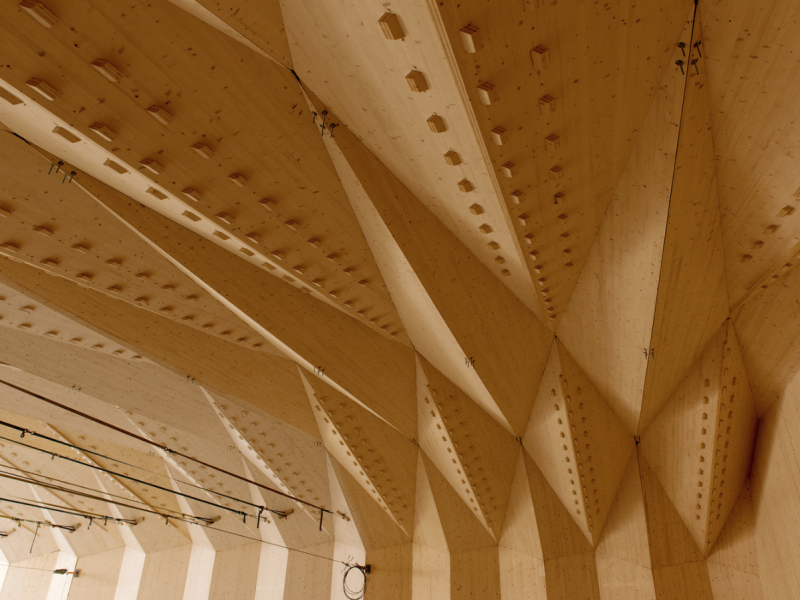 Timber Pavilion of the Vidy-Lausanne Theatre