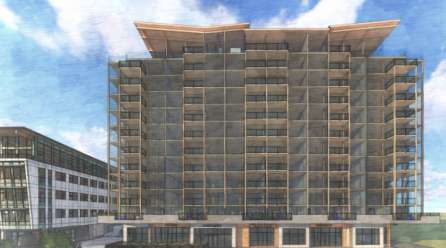 First of its kind 12-storey wooden building coming to Langford
