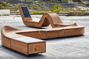 Innovative Public Furniture Designed for Academic Institutes