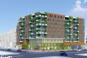 Project will be the first using cross-laminated timber (CLT) in San Jose