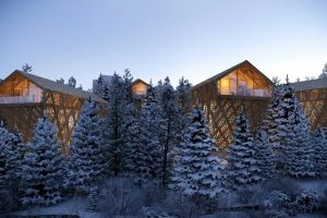 Peter Pichler Designs Luxury 'Tree Suites' Elevated Within an Austrian Forest