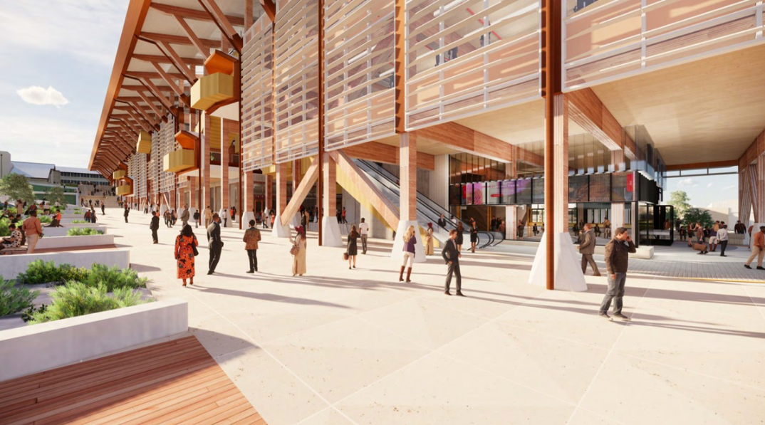 Five Firms Design Western Australia's First Large-Scale Timber Building