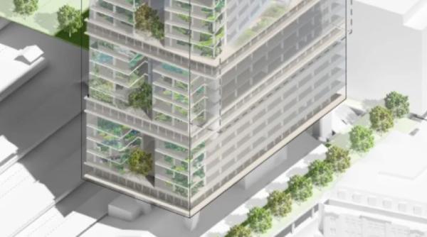 Atlassian's $1b timber Sydney tower