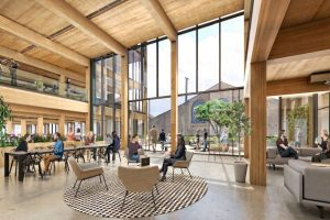 Brookfield to Build Largest Mass Timber Office Building in America
