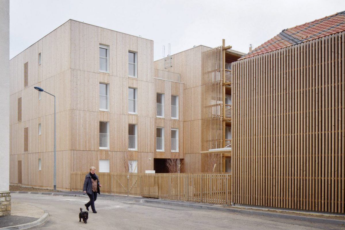 French Public Buildings To Be Built With 50 Per Cent Wood