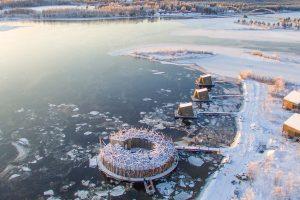 Look Inside Sweden's Spectacular New Floating Hotel