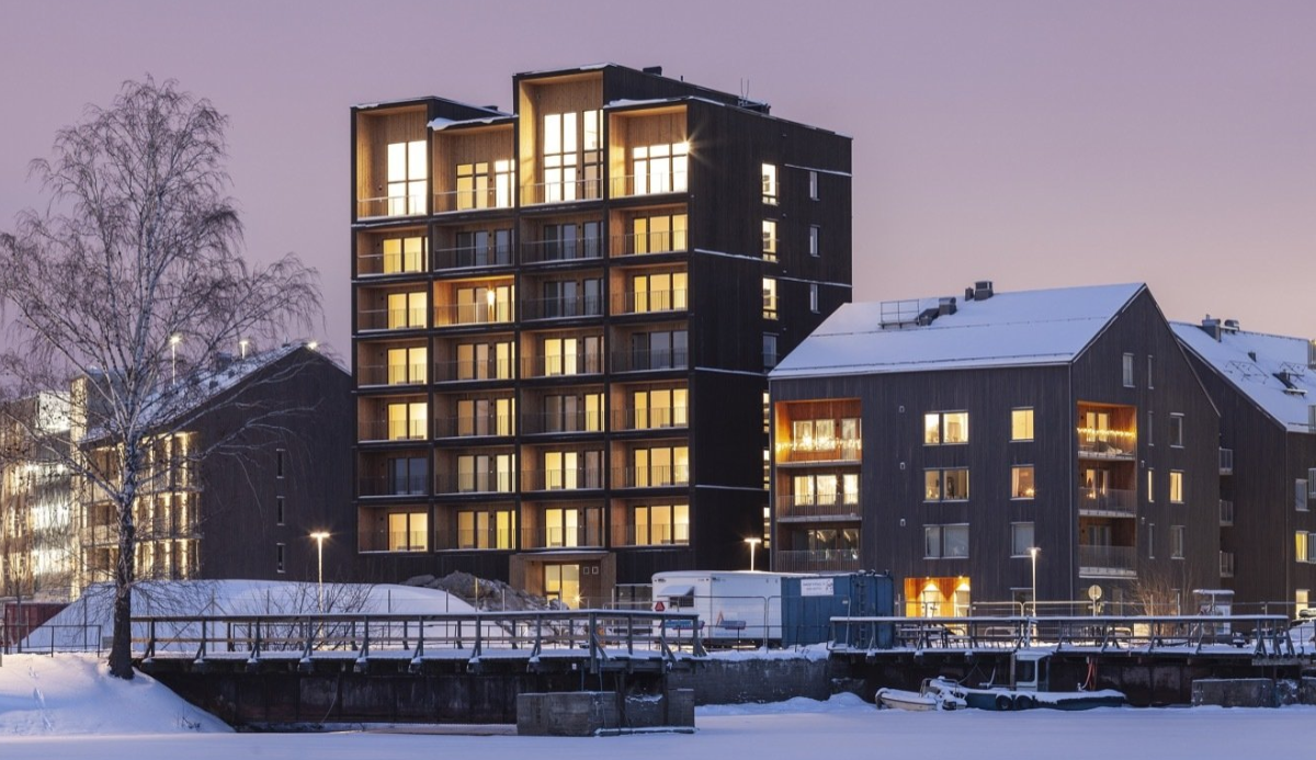 Sweden's Tallest Timber Building Is a Towering Feat of Sustainable Architecture