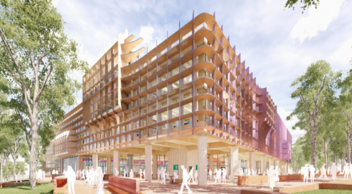 New Vision of University of Newcastle's STEMM building