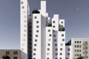 Skid Row Housing Trust Plans Mass Timber High-Rise in DTLA