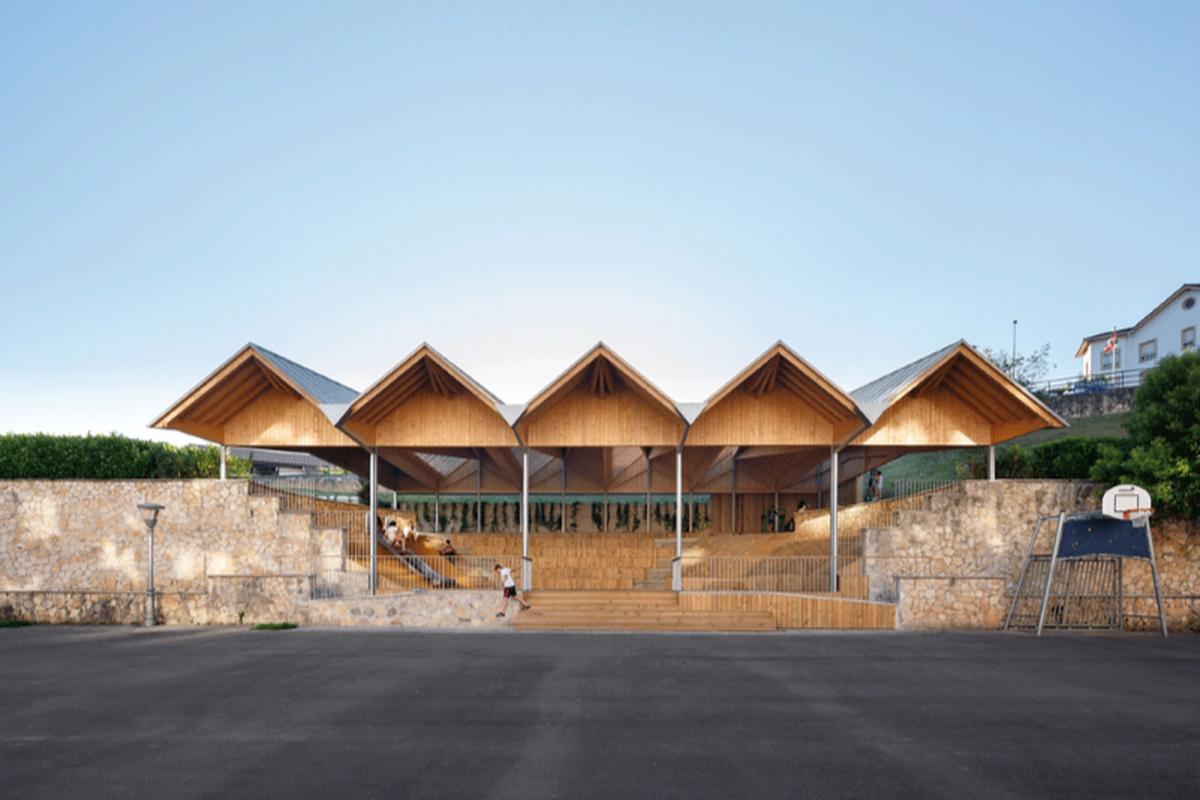 AZAB Creates Beautiful New Auditorium in Mallabia