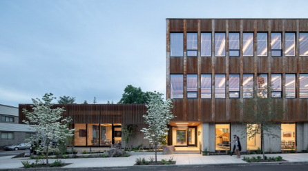 Lever Architecture designs CLT extension for The Nature Conservancy's Portland office